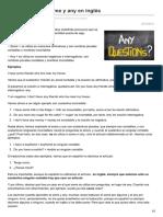 Lawebdelingles.com-Cómo Se Utiliza Some y Any en Inglés