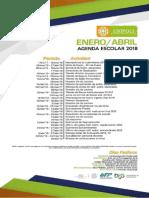 Agenda Escolar 2018