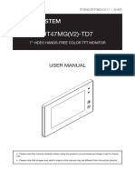 Dt47mg User Manual
