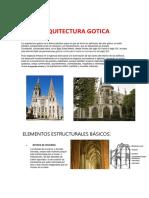 ARQUITECTURA GOTICA INFORME