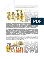 Organización Económica de Los Aztecas