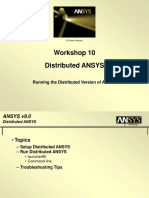 WS10 Distributed ANSYS 90