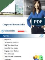 8 PDF Saturn Corporate Presentation