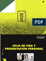 Hoja Vida - Presentación Personal Asturias