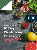 10 Day Plant Based Challenge Recipe eBook