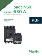 Lv434101 NSX User Manual