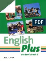 Wetz Ben Pye Diane English Plus 3 Student Book