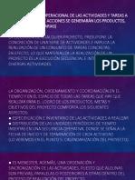 Proyectos Organizacionales. Cont. Unidad 3 y Unidad 4.pptx