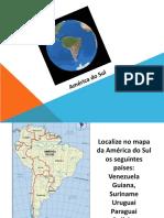 K PPT América Do Sul