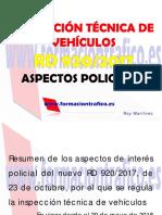 ITV 920-17 Aspectos Policiales