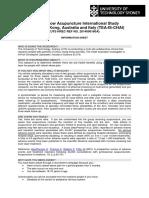 Tennis Elbow Acupuncture International Study