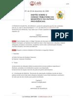 Lei Ordinaria 1697 1983 Manaus AM Consolidada [29!12!2016]