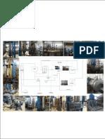 Diagrama instalación de evaporación