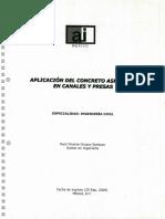 Aplicacion Del Asfalto en Canales y Presas.mexico