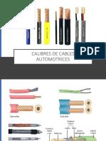 Calibres de Cables Automotrices