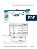 3.3.2.3 Lab - Configuring Rapid PVST,