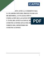 Camara Argentina de Productores Pymes Audiovisuales Cappa
