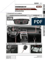 Immobilizer and Rechargeable Keys korando