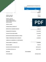 Elaboracion de Presupuestos Antipasto
