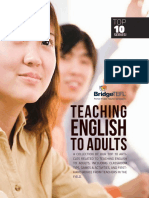 E Book Teaching English to Adults 2018