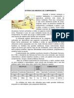 FINALIZADO. Historia Das Unidades de Medida de Comprimento (1)