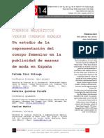 Icono14. A8/ESP. Cuerpos mediáticos versus cuerpos reales. Un estudio de la representación del cuerpo femenino en la publicidad de marcas de moda en España