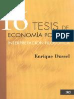 16 Tesis Economia