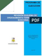 Programa de Ejecucion Eot Bosconia