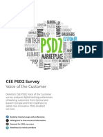 Ce Psd2 Voice of the Customer Survey 2018