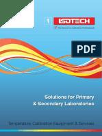Isotech Calibration 1Puntos Fijos