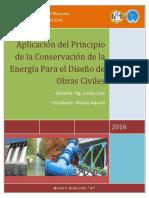 Aplicación Del Principio de Conservación de La Energía Para El Diseño Estructural de Obras Civiles Ok