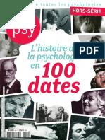 L'Histoire de La Psychologie en 100 Dates