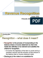 IFRS for Revenue Recognition F10