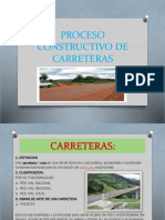 Proceso Constructivo de Carreteras
