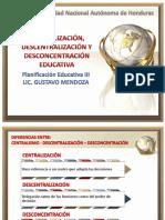 Centralizacion Descentralizacion Desconcentracic3b3n-Educativa
