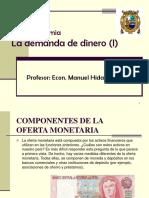 4 La Demanda de Dinero (I)