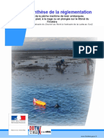 Peche à Pied - Reglementation Finistere 2018 SYNTHESE