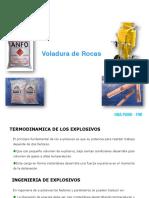 Termoquimica de Los Explosivos y Agentes de Voladura (1)