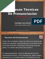Tecnicas de Pronunciacion