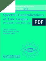 Cvetkovic -- Spectral Generalizations of Line Graphs