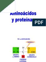 Aminoácidos y Proteínas