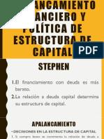 Apalancamiento Financiero y Política de Estructura de Capital