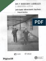 Basualdo v. Esponda a. Gianibelli G. y Morales D. - Terciarizacion y Derechos Laborales