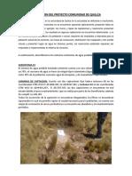 DESCRIPCION DEL PROYECTO quillca.docx