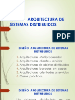 Diseño Arquitectura de Sistemas Distribuidos