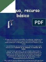 agua_recurso_basico-ESPAÑA.ppt
