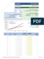 Savings Interest Calculator