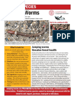 Jumping Worms fact sheet