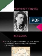 Lev Semiónovich Vigotsky Ramiro Veliz