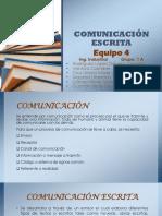 Equipo 4.- Comunicación Escrita. Lectura Selectiva